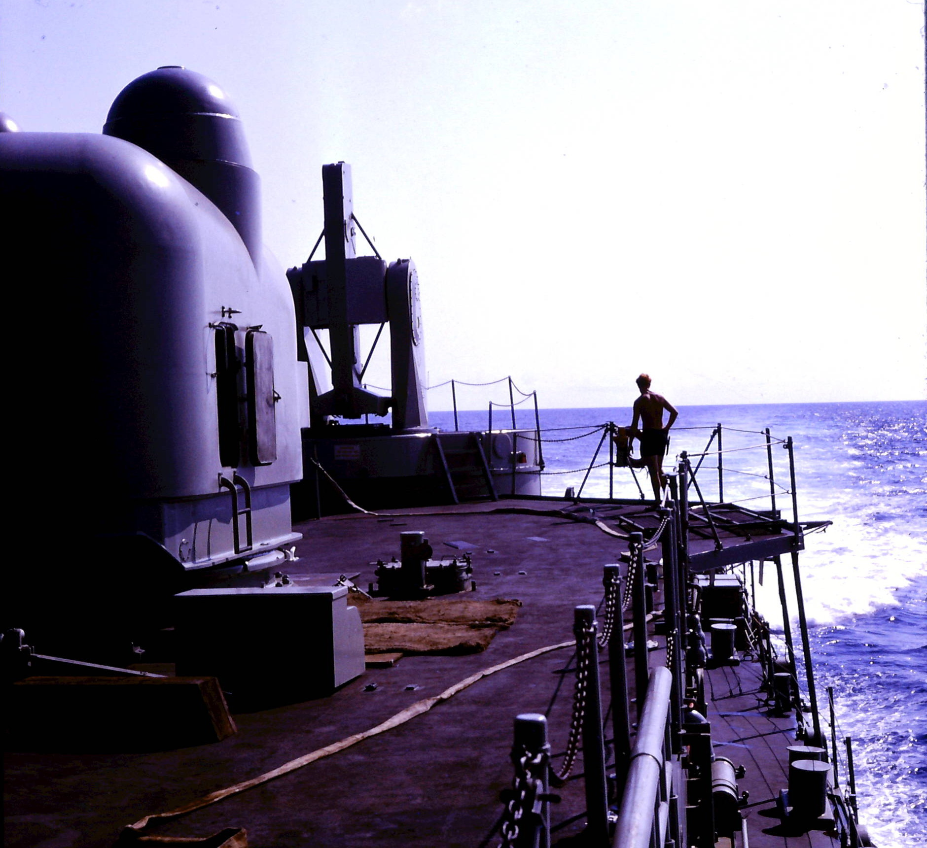 1968 HMAS Perth Quarter deck