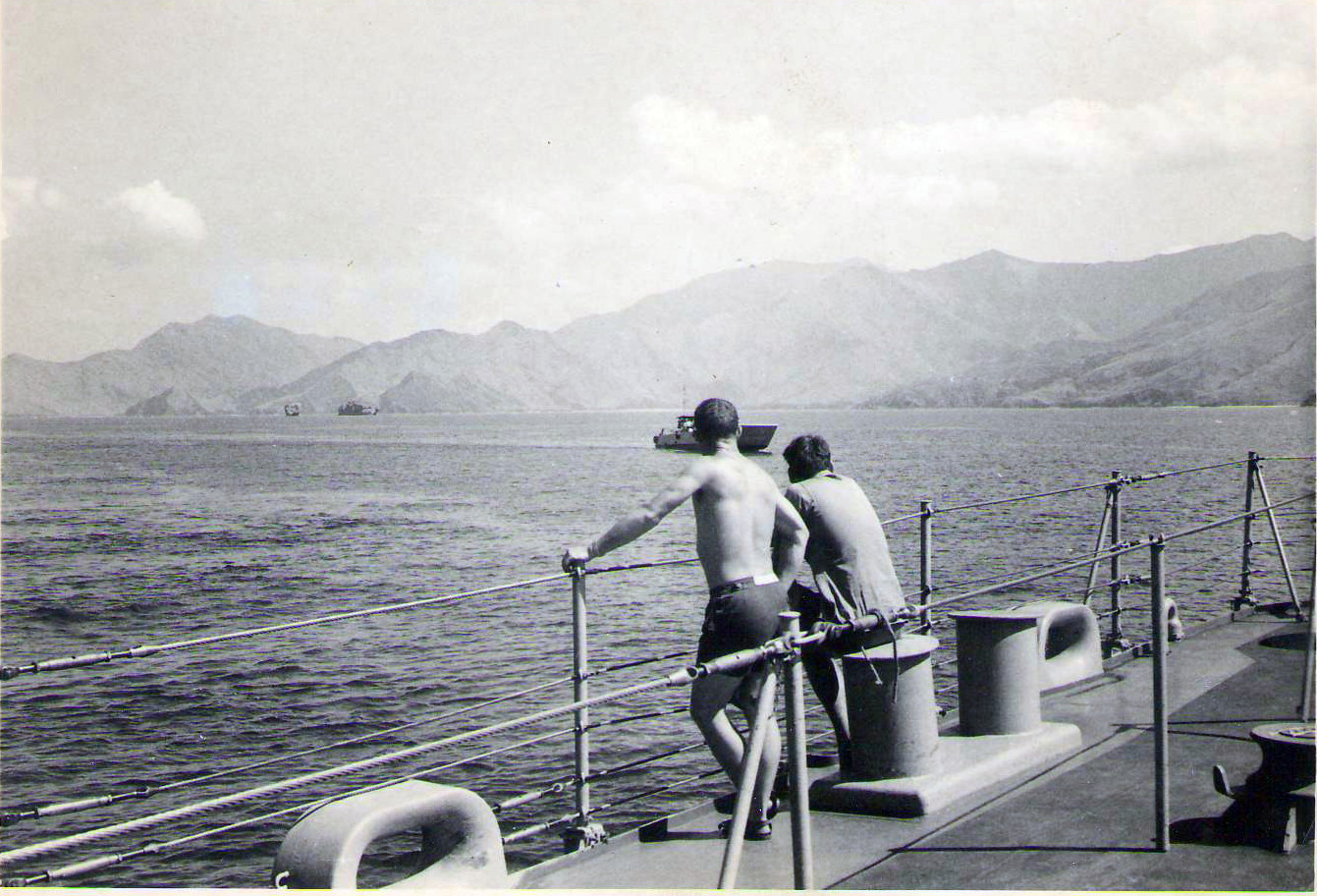 1969 Vietnam at anchor